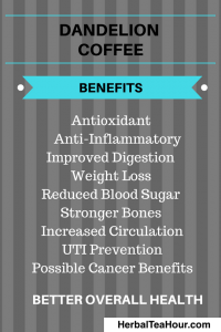dandelion coffee benefits