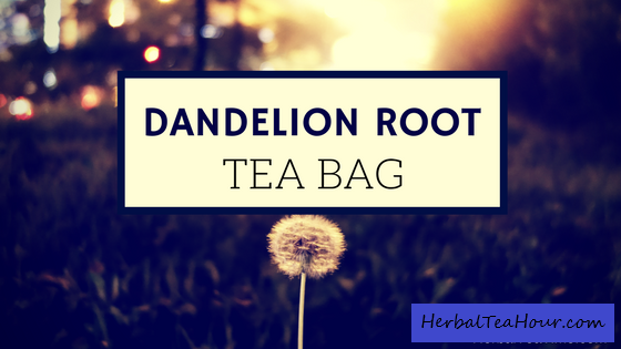 dandelion root tea bag