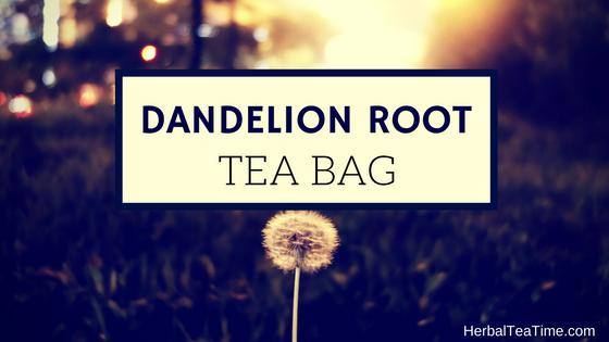 dandelion root tea bag