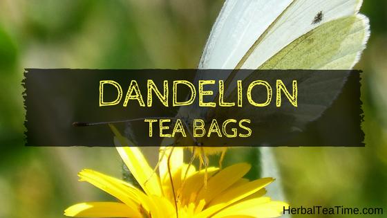 dandelion tea bags