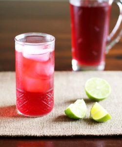 iced hibiscus tea recipe