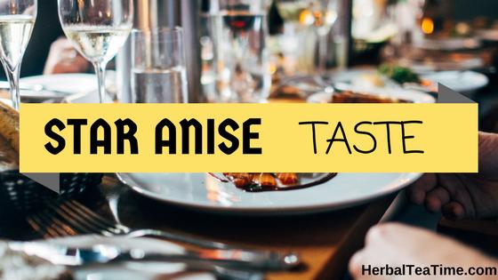 star anise taste