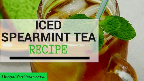 iced spearmint tea recipe