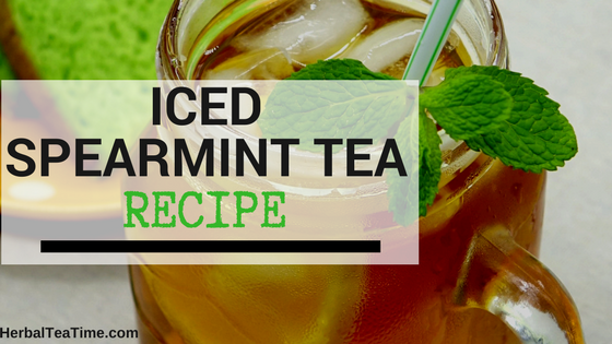 iced spearmint tea recipe