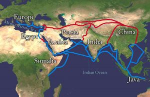 ginger tea silk road history