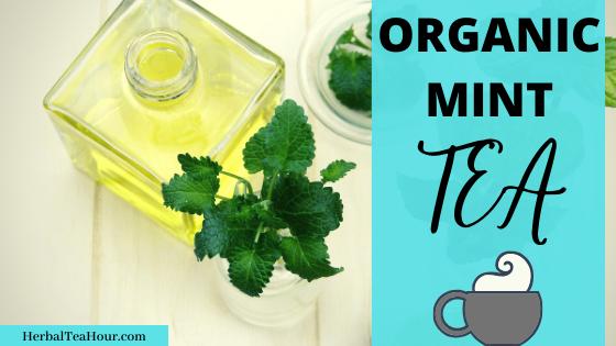 organic mint tea delicious